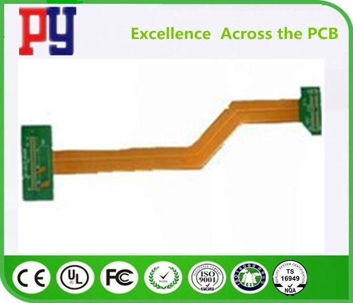 Fr4 Polyimide Flexible Pcb Prototype , PCB Printed Circuit Board HASL Surface.