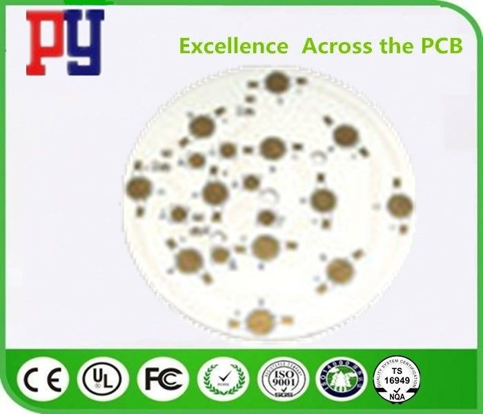 High Precision Fr4 LED PCB Printed Circuit Board , 2 Layer X Circuit Prototype