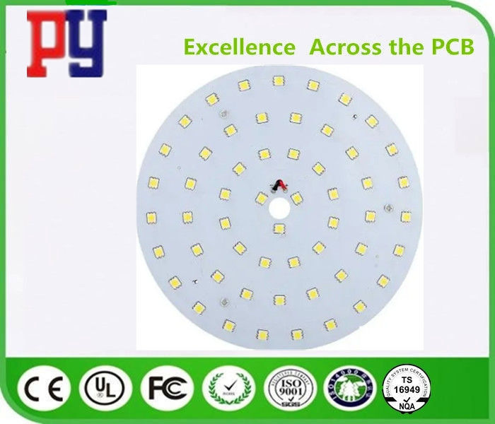 Rigid Flex LED PCB Board , 2 Layer Led Pcb Assembly High Precision UL ISO9001 Marked